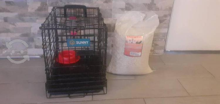 Jaula transportadora mascotas