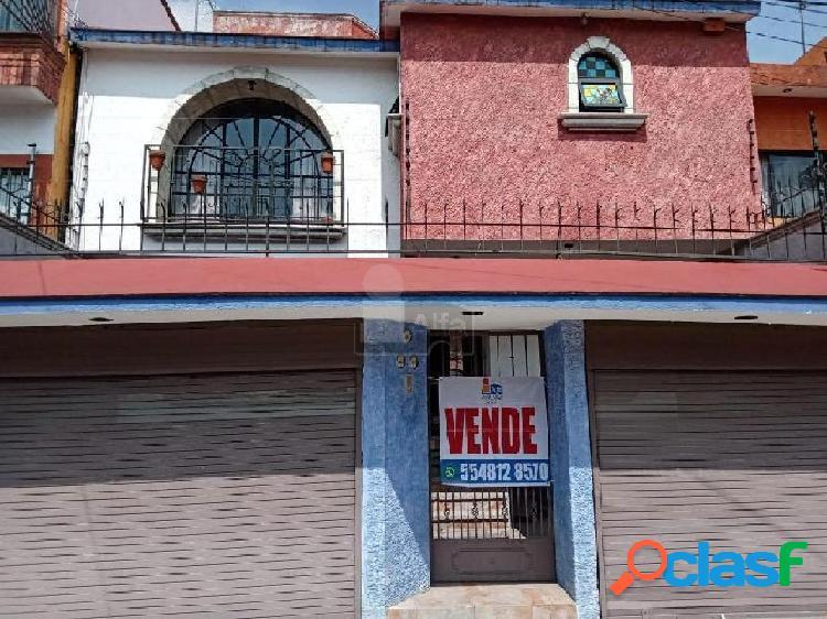Casa sola en venta en barrio 18, xochimilco, distrito federal