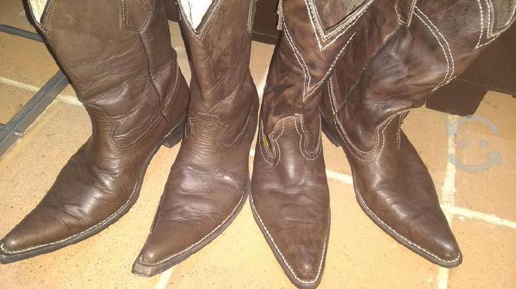 Botas piel hombre vaqueras