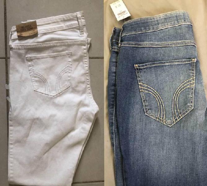 Jeans hollister nuevos con etiqueta