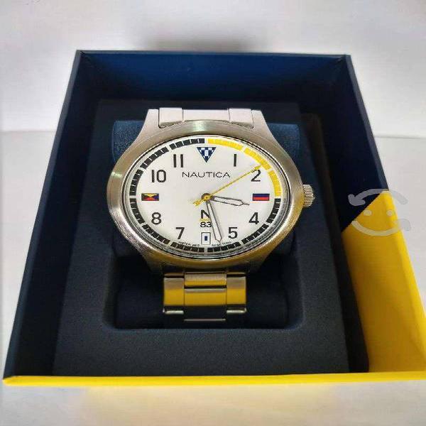 Reloj nuevo caballero náutica todo en acero