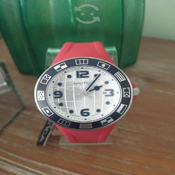 Reloj nuevo caballero náutica en estuche especial