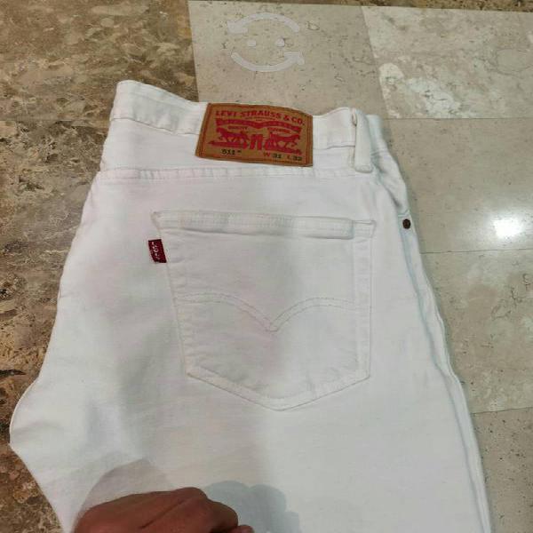 Pantalón 511 blanco levis