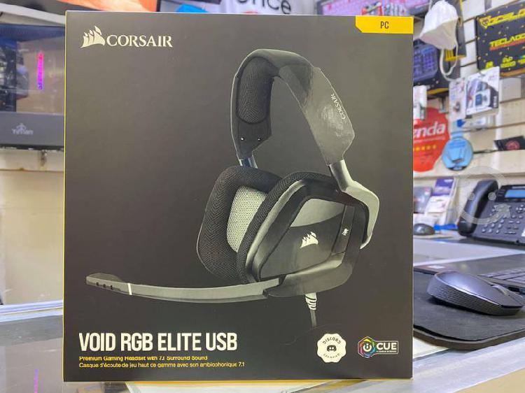 Audifonos gamer corsair void rgb elite