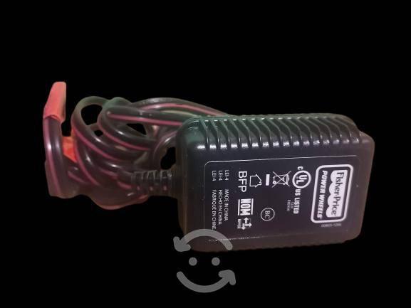 Cargador para baterías 12 volts power wheels