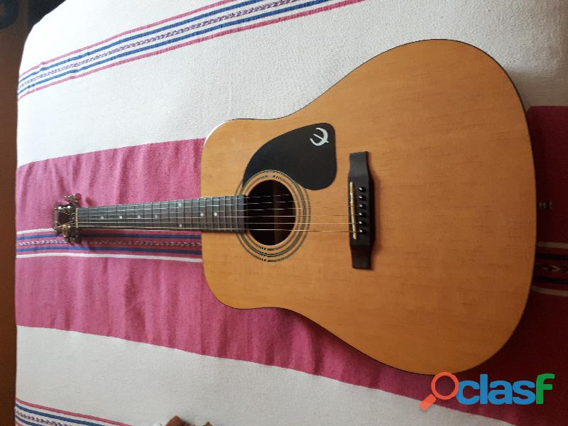 Guitarra acústica epiphone pr 150 natural derecha