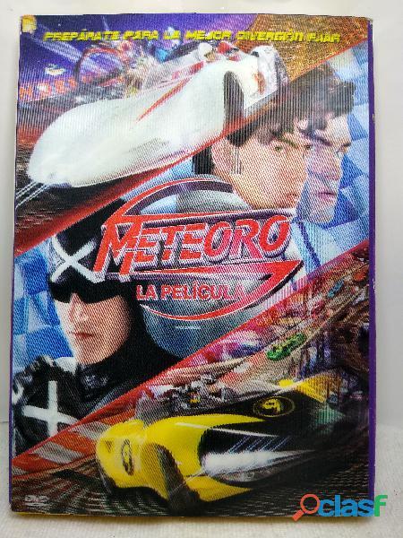 Dvd serie y película meteoro speed racer