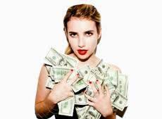 Chicas interesadas en trabajar grandes ingresos