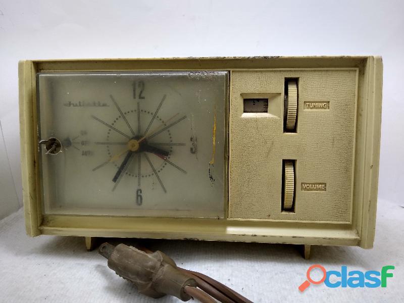 Radio reloj despertador juliette vintage