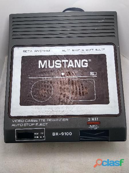 Rebobinadora betamax marca mustang vintage