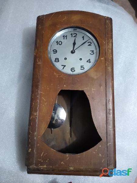 Antiguo reloj de péndulo francés brevete s.g.d.g