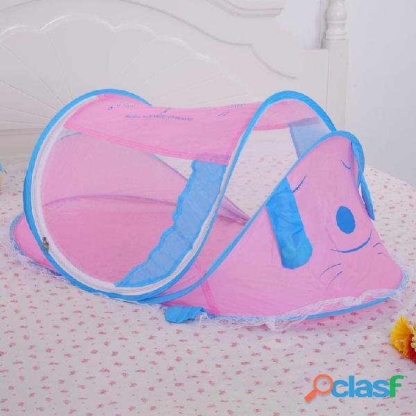 Cama para bebé recién nacido mosquitera