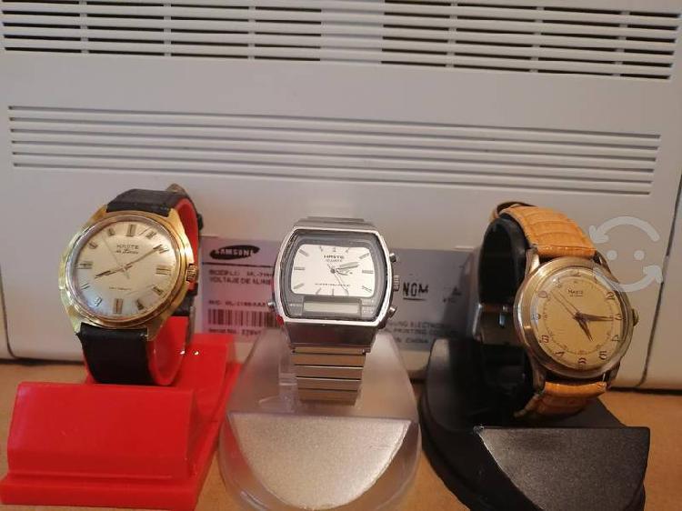 15 relojes haste antiguos