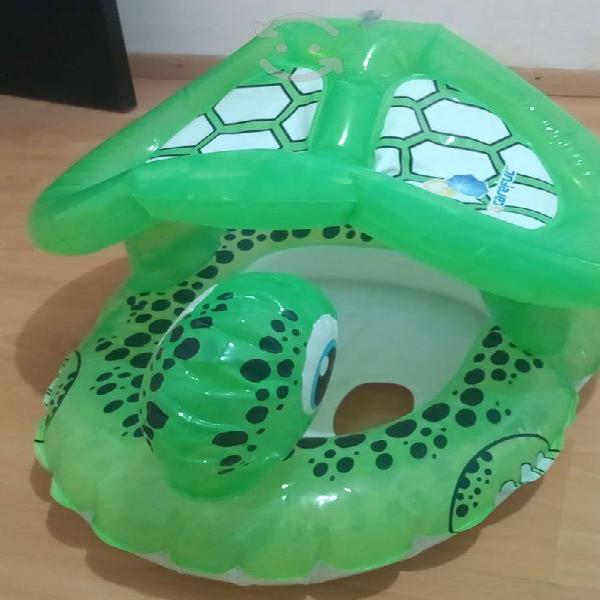 Flotador silla inflable bebe 1-2 año