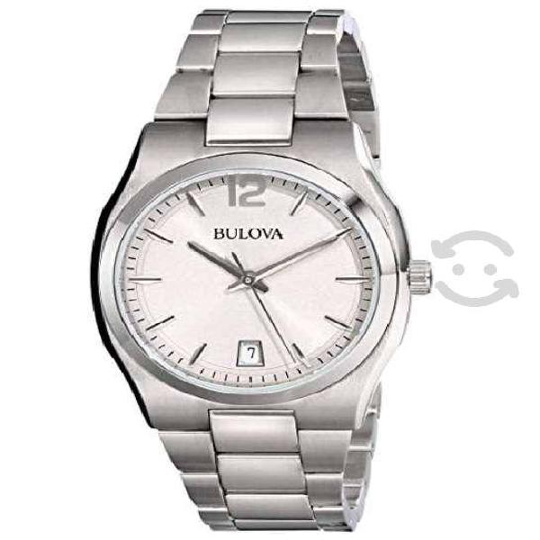 Reloj bulova de pulsera para mujer, cuarzo.