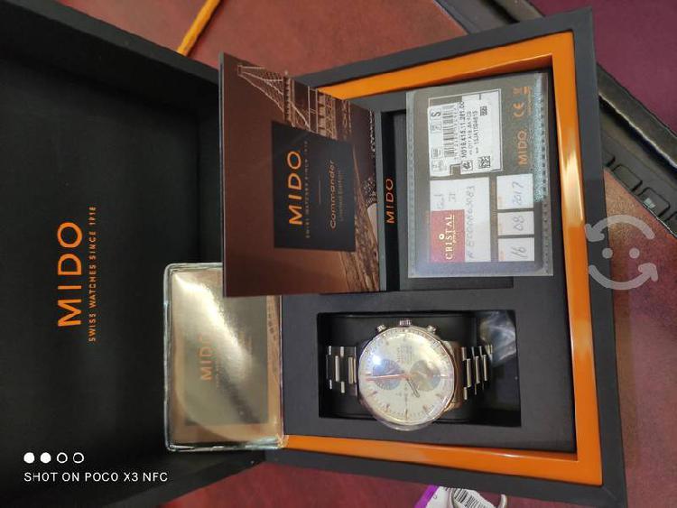 Reloj mido commander edición especial