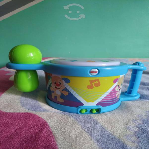 Tambor fisher price