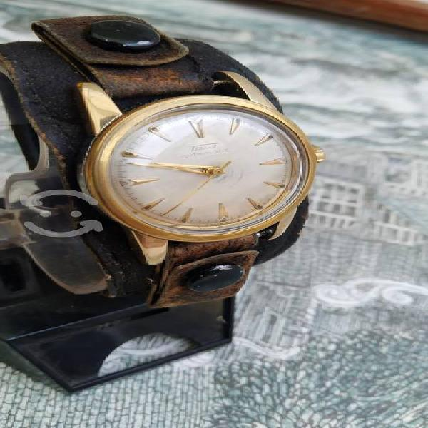 Antiguo reloj tissot militar bumper automático