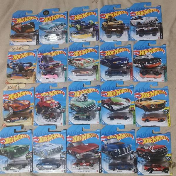 Carros hot wheels 40 piezas