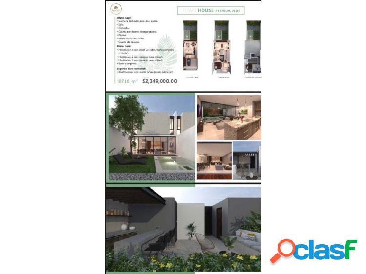 Venta TOWN HOUSE premium plus 3