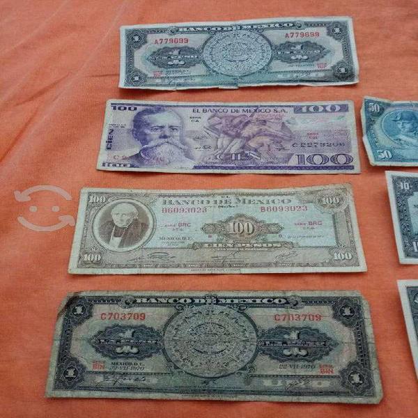 Atención coleccionistas! vendo billetes antiguos