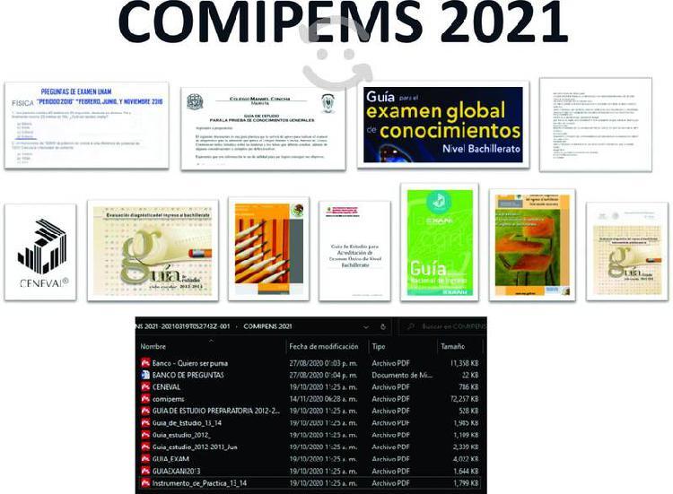 Admision comipems 2021