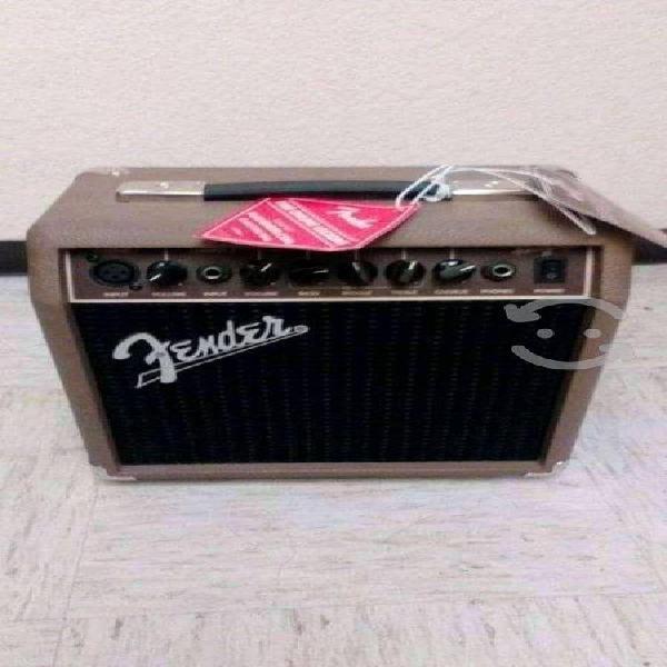 Amplificador para guitarra fender acustasonic de 1