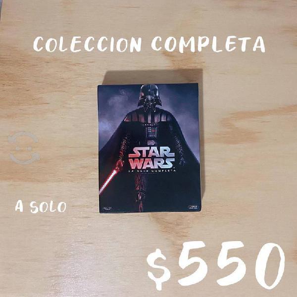 Colección star wars saga original i-vi
