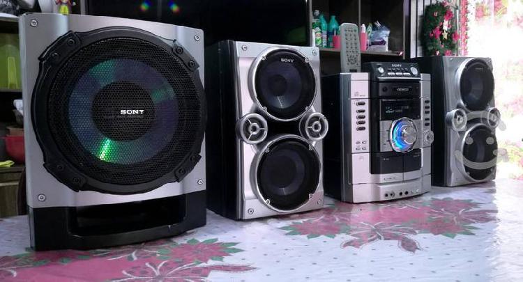 Estéreo sony genezi hi-fi con auxiliar