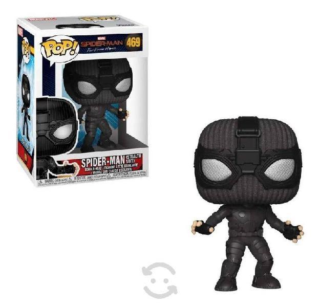 Funko pop spider-man stealth suit 469