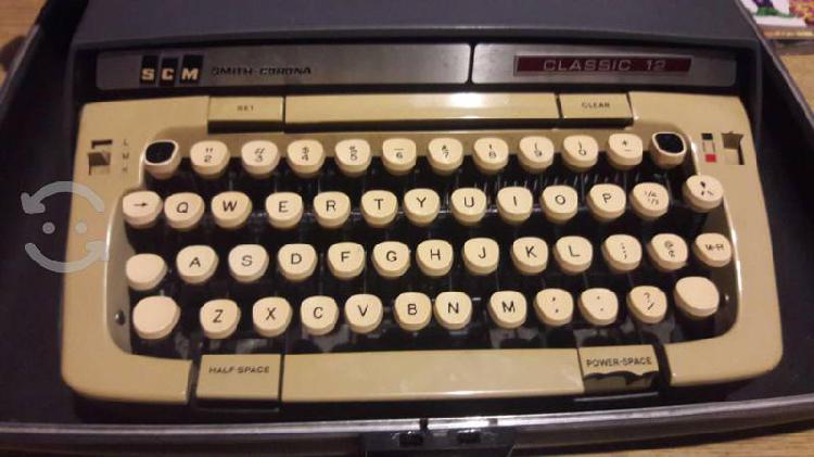 Maquina de escribir smith corona classic 12