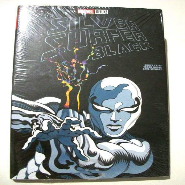 Marvel comics silver surfer black pasta dura