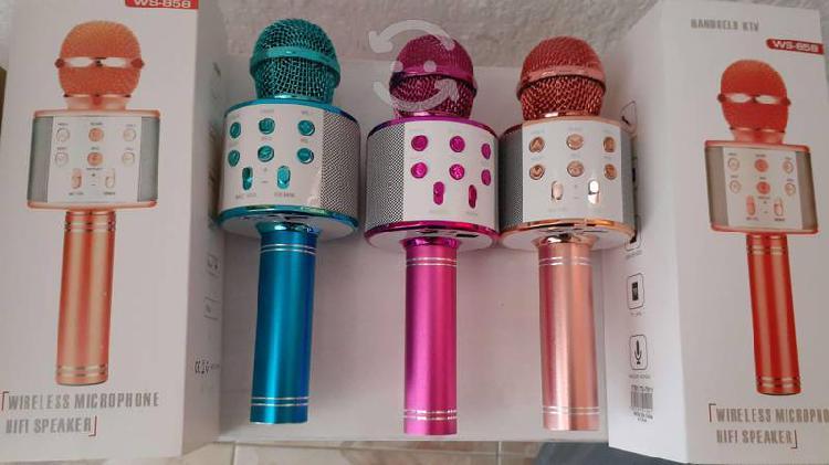 Microfono bocina kareoke