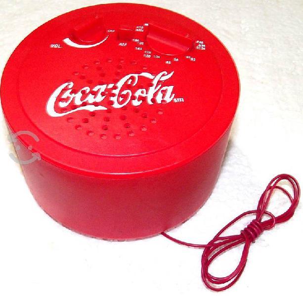 Radio am/fm coca cola (coleccionable)