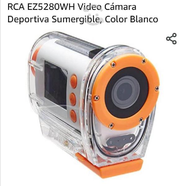 Videocamara digital portátil deportiva