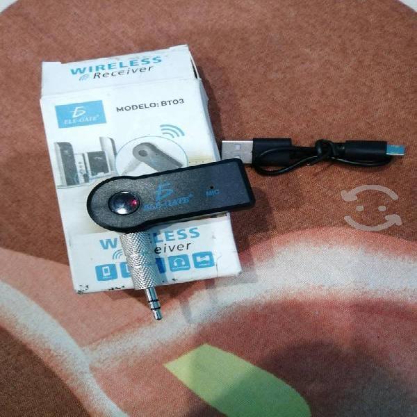 Receptor audio bluetooth 3.5 el-gate
