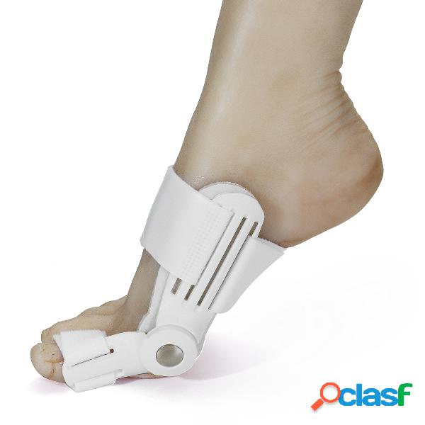 1 pieza corrector de pie hueso valgus corrección hallux valgus ortesis toe bracket cuidado de los pies