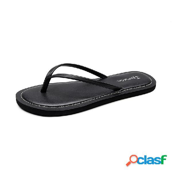 Mujer chanclas sandalias zapatillas playa zapatos