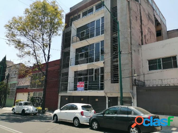 Oficina comercial en renta en viaducto piedad, iztacalco, oficina en renta de 110 m2 con 2 baños
