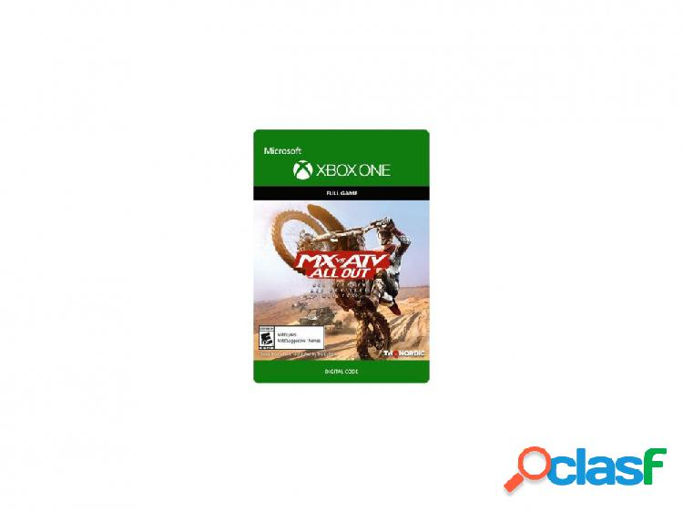 Mx vs. atv all out, xbox one - producto digital descargable