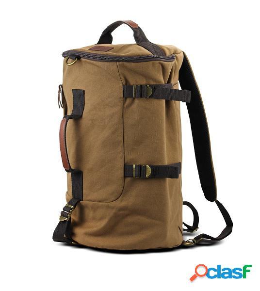 """Klip xtreme mochila de algodón karavan para laptop 15.6"""", marrón"""