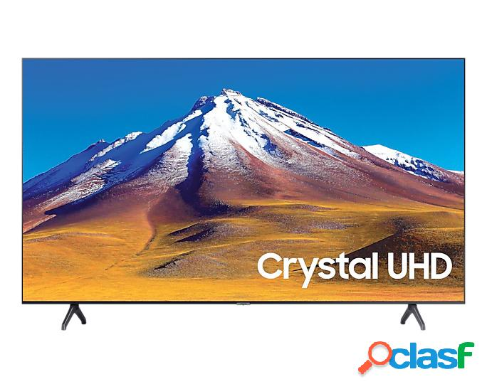"Samsung smart tv led tu6900 crystal 50"", 4k ultra hd, widescreen, gris/titanio"