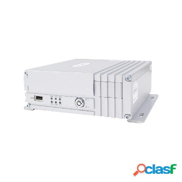 """Epcom dvr móvil de 4 canales xmr400hs para 1 disco duro 2.5"""", máx 2tb, 3g/gps/wifi, 2x usb 2.0"""