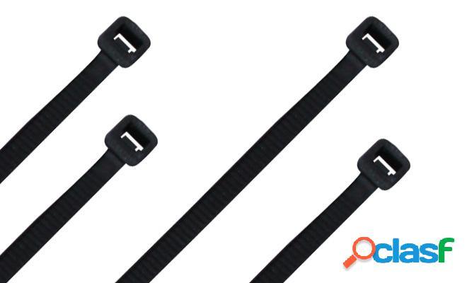 Thorsman cintillo th-100, 10cm, negro, 100 piezas