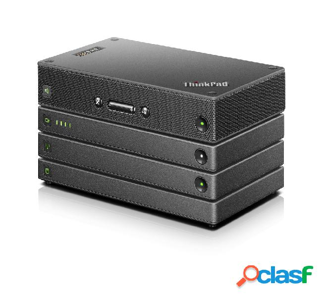 Disco duro externo lenovo professional stack kit 4 en 1, 1tb, usb 3.0 + bocina potátil/cargador portátil/router