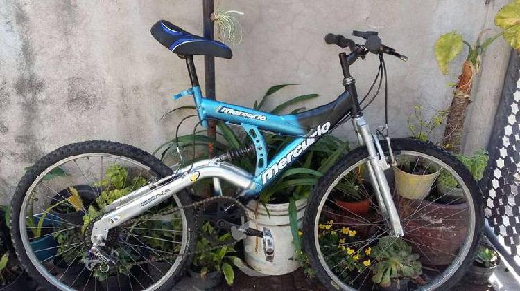 Bicicleta rd26 doble suspensión