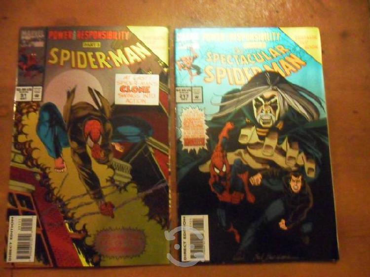 Comics spiderman (origen del clon)