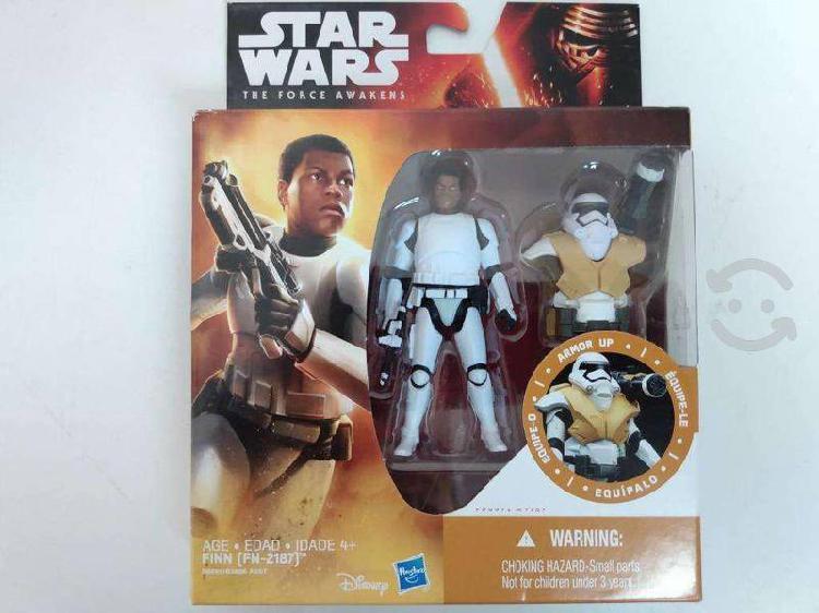 Figuras Star Wars Han Leia Gonk Poe precio de c/u
