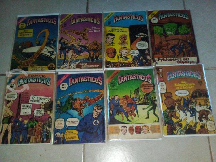 Lote comics 56 numeros los 4 fantásticos novedades