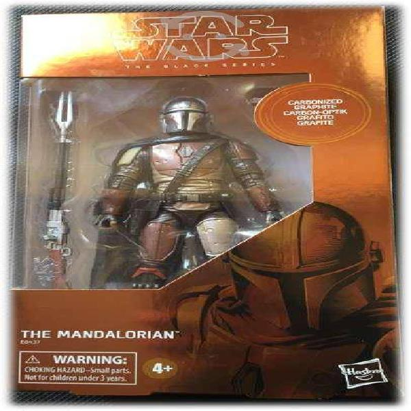 The mandalorian star wars figura accion black seri